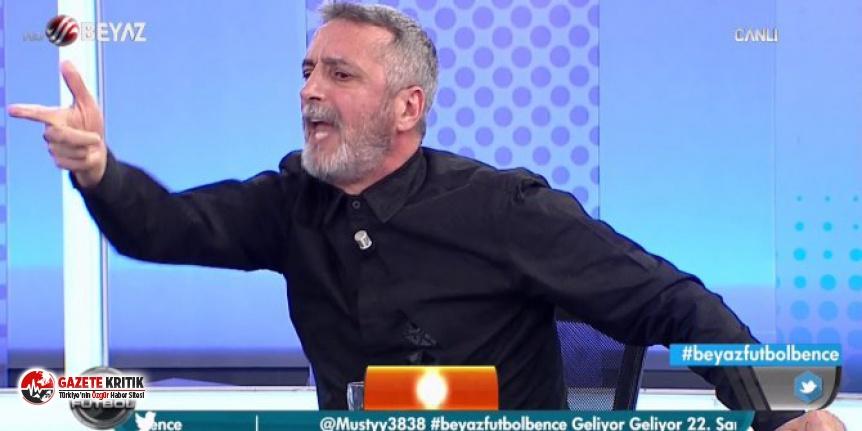 Beyaz TV'de büyük skandal: Abdülkerim Durmaz canlı yayında küfür etti