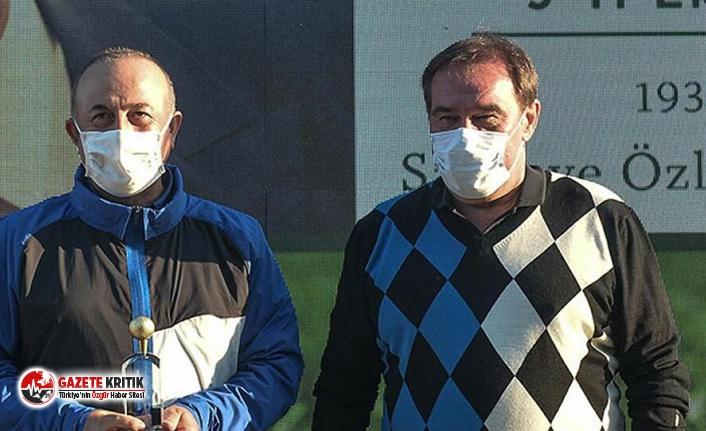 Çavuşoğlu, Erdoğan Demirören Golf Turnuvası'nda şampiyon oldu