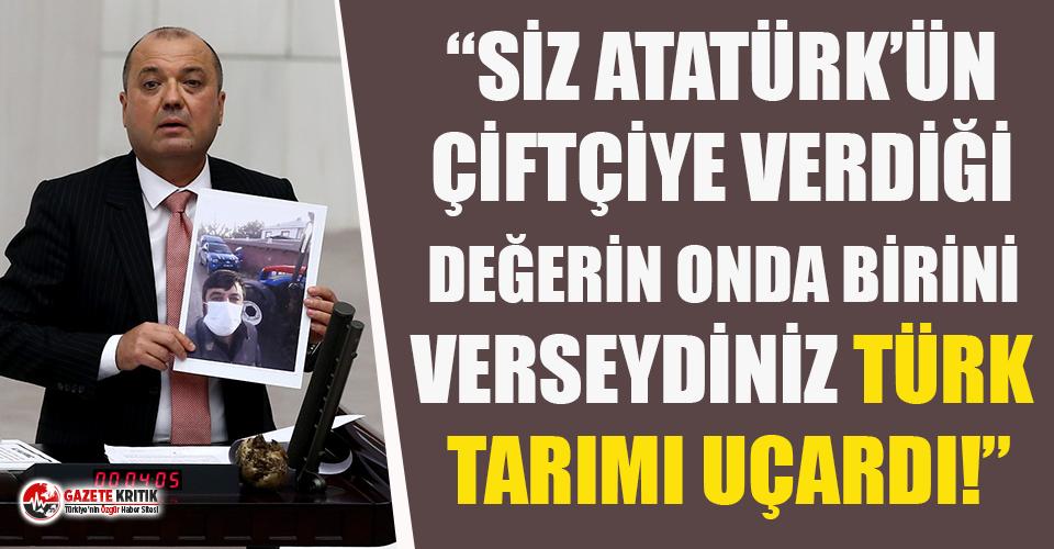 CHP'li Aygun: Atatürk Saray Yerine Çiftlik Kurdu, Hala Orada Süt Üretiliyor