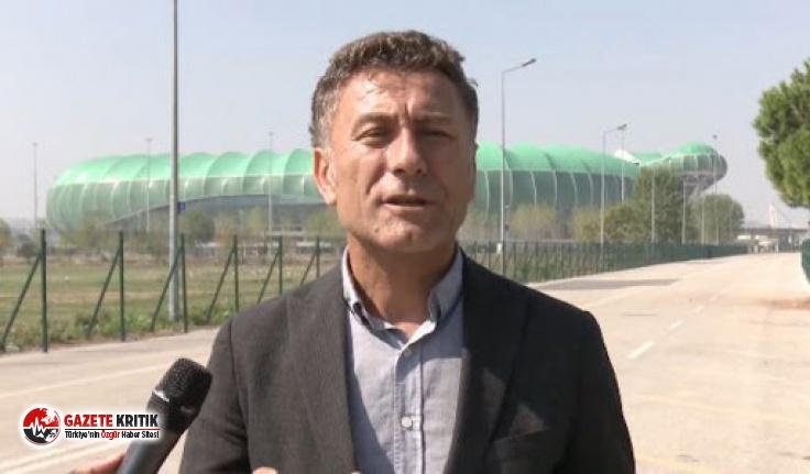 CHP'li Sarıbal: 700 Milyon TL'lik bitmeyen stadyum!