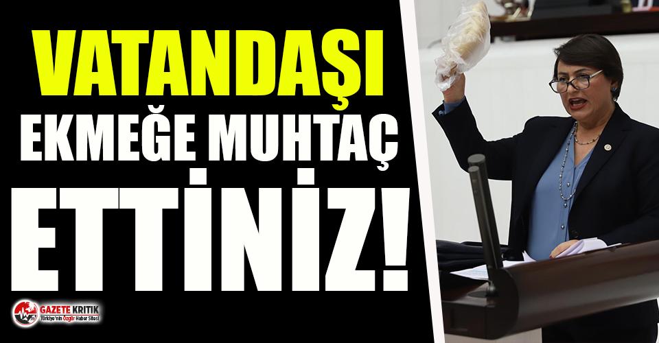 """CHP'li Şevkin: """"Vatandaşı önce ekmeğe muhtaç ettiniz, sonra askıda ekmek uygulamasına başladınız"""""""
