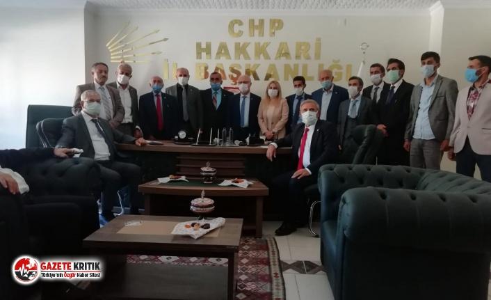 CHP'li vekiller, incelemelerde bulunmak için Hakkari'ye gitti