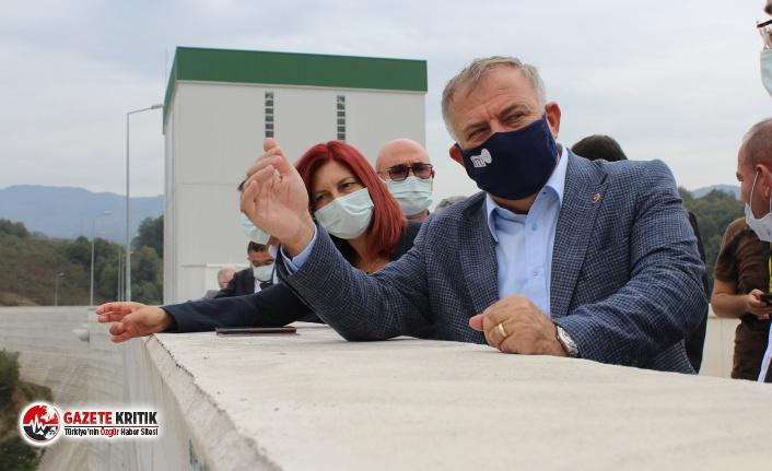 """CHP'li Zeybek: """"Türkiye'nin en köklü kurumlarından DSİ, küçük ölçekli bir baraj olan Melen Barajı'nın altında kalmıştır"""""""
