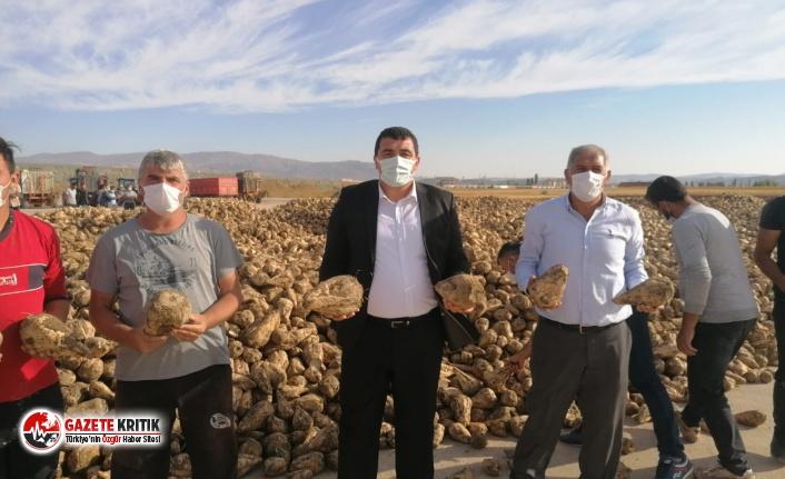 CHP'li Karasu: Sivas'ın çiftçisi sahipsiz değil