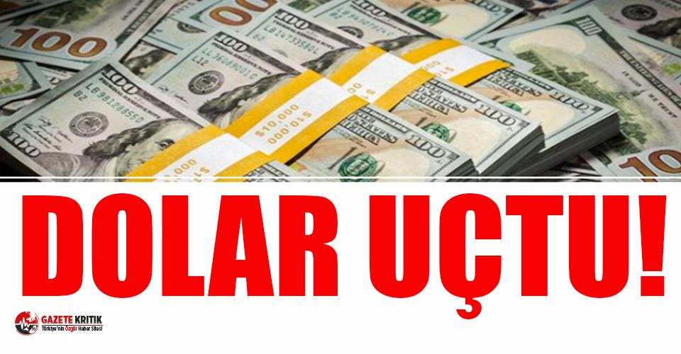 Dolar tarihi  tarihi rekorunu kırdı