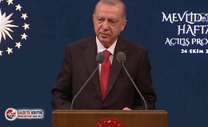 Erdoğan'dan Fransız mallarını boykot çağrısı