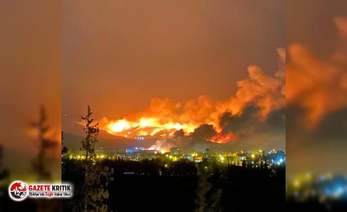 Hatay'daki orman yangınlarını 'PKK üstlendi' iddiası
