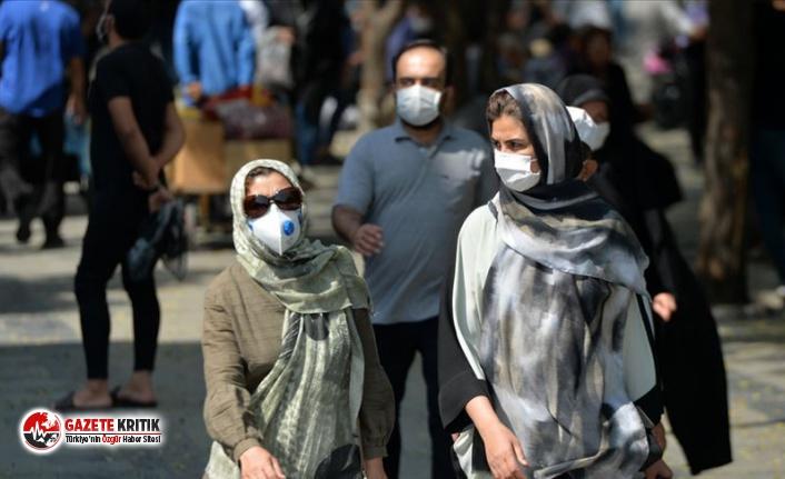 İran'da son 24 saatte 4 bin 552 yeni koronavirüs vakası görüldü