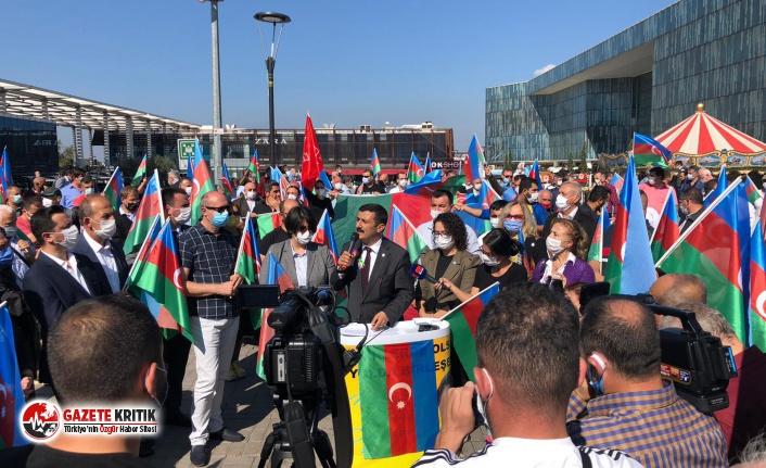 İYİ Parti Bursa, bu kez Azerbaycan ve Karabağ için sahadaydı!