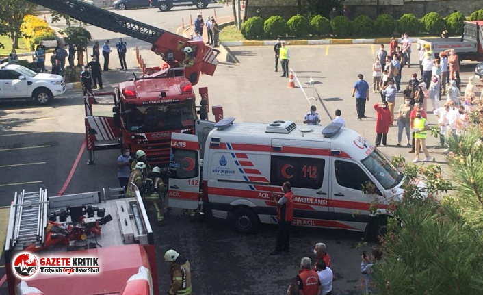 Kartal'da Deprem Anında Yangın Müdahale ve Kurtarma Tatbikatı Yapıldı