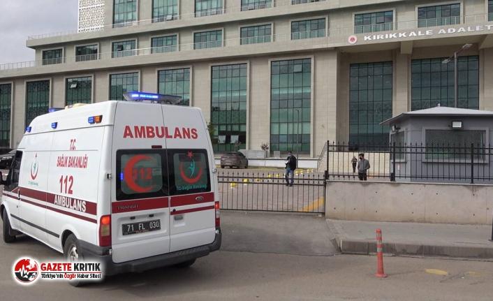 Kırıkkale'de boşanma aşamasındaki eşini bıçakla yaralayan şüpheli tutuklandı
