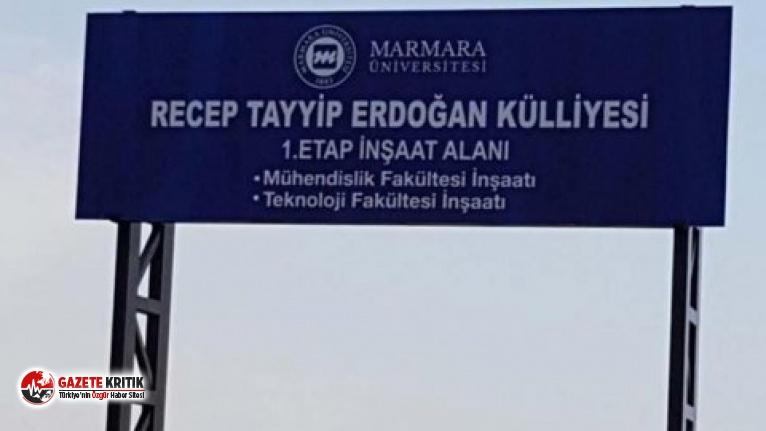 Marmara Üniversitesi, 'Recep Tayyip Erdoğan Külliyesi' oluyor