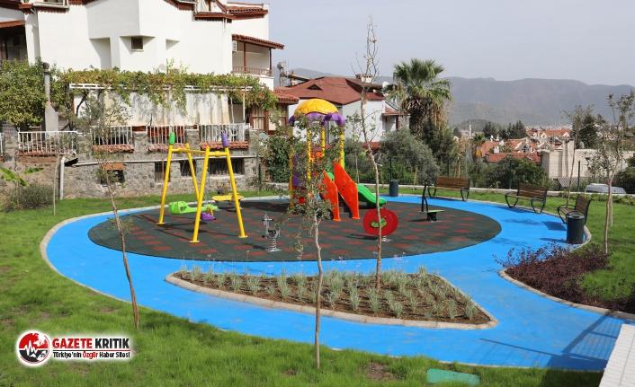 Marmaris'te Yeni Parklar Yolda