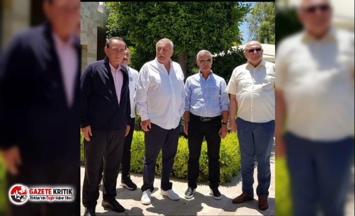 Mehmet Ağar, Korkut Eken ve Engin Alan Alaattin Çakıcı'yı ziyaret etti!