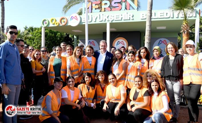 Mersin Büyükşehir'de Her Kademede Kadınların Emeği Var
