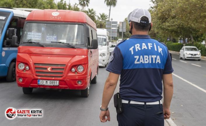 Mersin Büyükşehir zabıta ekipleri maske denetimlerini sürdürüyor