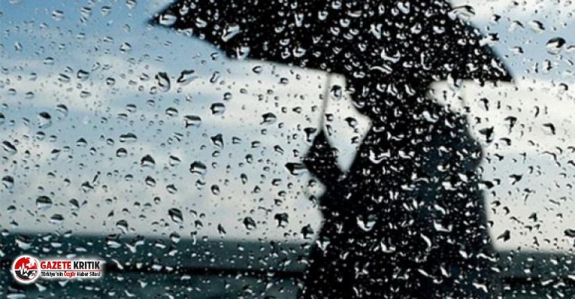 Meteoroloji'den 5 il için 'sel' uyarısı