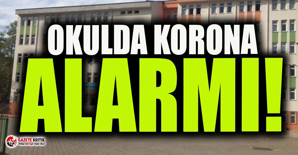Öğretmen ve öğrencide koronavirüs çıktı, 30 öğrenci karantinada!