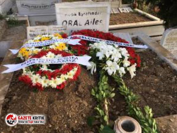 Özgü Namal eşinin cenaze törenine katılamadı, çelenk detayı dikkat çekti