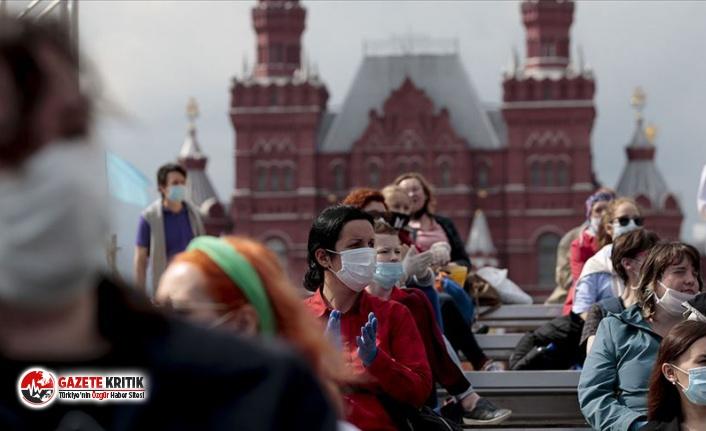 Rusya'da son 24 saatte 17 bin 717 yeni koronavirüs vakası tespit edildi
