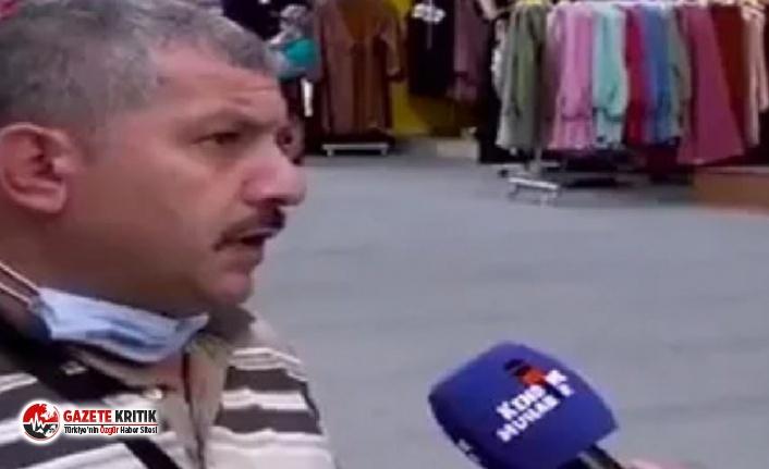 Sokak röportajında iktidarı eleştirdi, evi basıldı