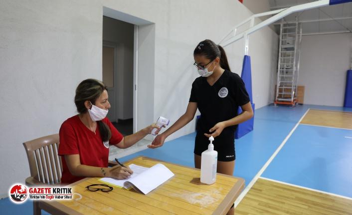 Spor Okulunda Kurallı Ders Başı