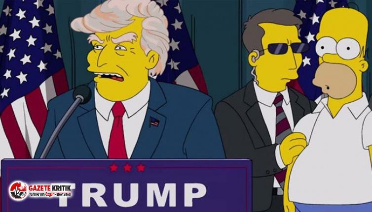 The Simpsons, Trump'a oy verilmemesi için 50 neden sıraladı