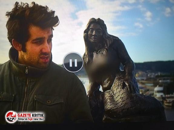 Tivibu, bir filmdeki kadın heykelinin göğüslerini sansürledi!