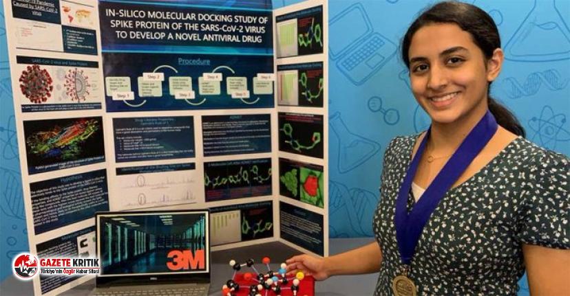 14 yaşındaki lise öğrencisi koronavirüsle savaşabilecek molekül keşfetti