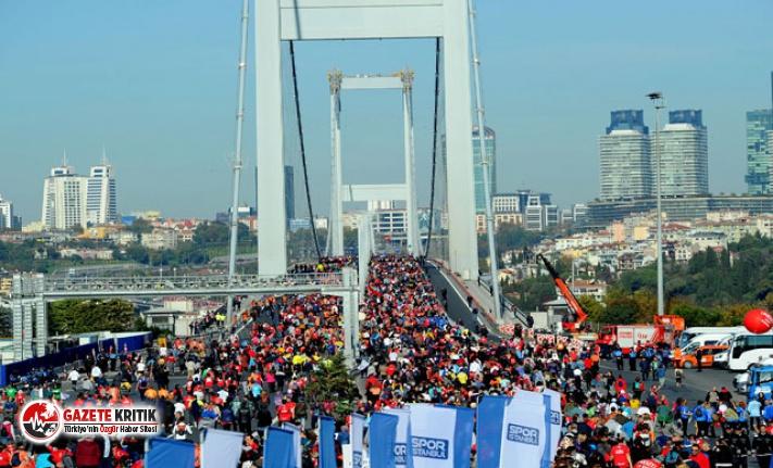 42. İstanbul Maratonu Pazar günü başlıyor; ilk defa köprüden iki kez geçilecek