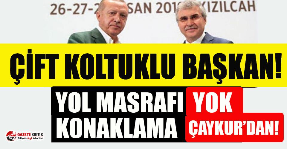 """AKP'li başkanın """"çifte koltuk"""" saltanatı! Ayda iki kez toplantıya katılarak 4 bin 500 TL alıyor"""