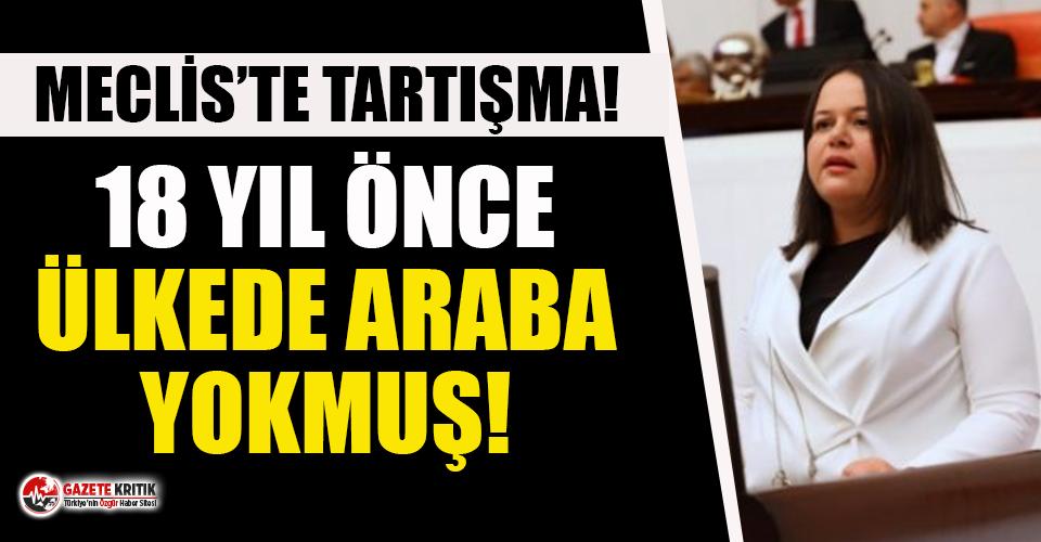 """AKP'li Nilgün Ök: """"18 sene önce bu ülkede araba mı vardı?"""""""
