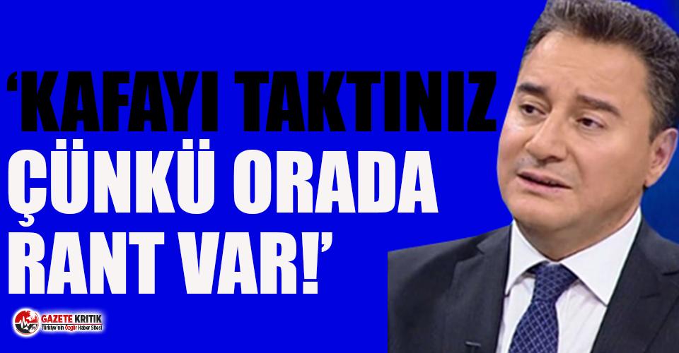 Ali Babacan'dan 'Kanal İstanbul' tepkisi!