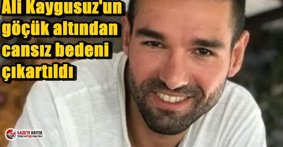 Ali Kaygusuz'un göçük altından cansız bedeni çıkartıldı