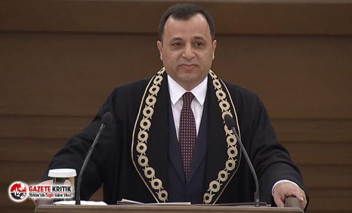 AYM Başkanı Arslan: Beraat kararlarının sorgulanmaması gerekir