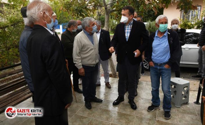 Başkan Özyiğit, kırsal mahalleleri adım adım gezdi