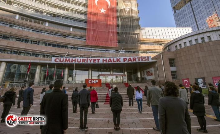 Büyük Önder Mustafa Kemal Atatürk, CHP Genel Merkezi'nde Anıldı