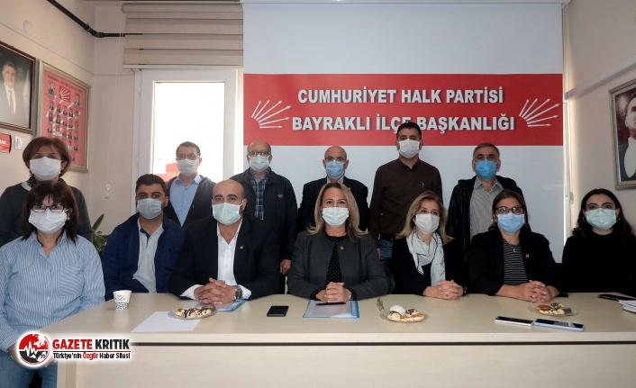 """CHP Bayraklı İlçe Başkanı Susmuş: """"Tüm çalışmalarımız koordinasyon içinde yürüyor"""""""