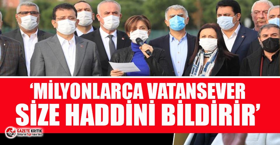 """CHP İstanbul'dan """"tehdit ve hakaret"""" açıklaması!"""