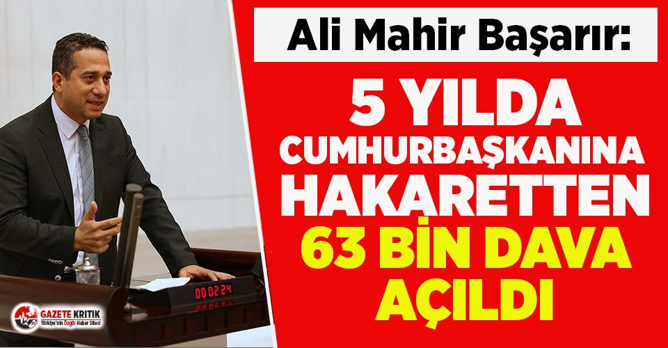 CHP'li Başarır: İktidar yargı eliyle gözdağı veriyor