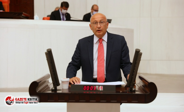 """CHP'li Çakırözer: """"Kölelik sistemini değil, işsizliği konuşalım"""""""