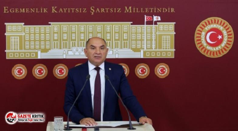 CHP'li Tarhan: Vatandaşın Sırtındaki Kambur Büyümeye Devam Ediyor
