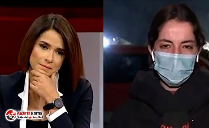 CNN Türk spikerinin canlı yayında çok zor anları! Gözyaşlarını tutamadı