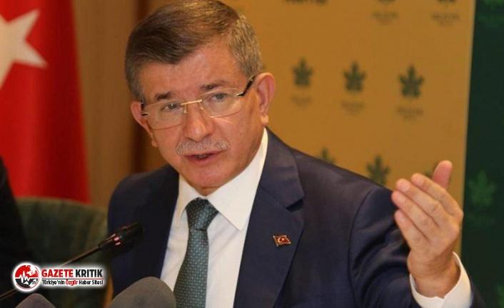 Davutoğlu'ndan istifa yorumu: Kimin gideceğine Bahçeli karar veriyor
