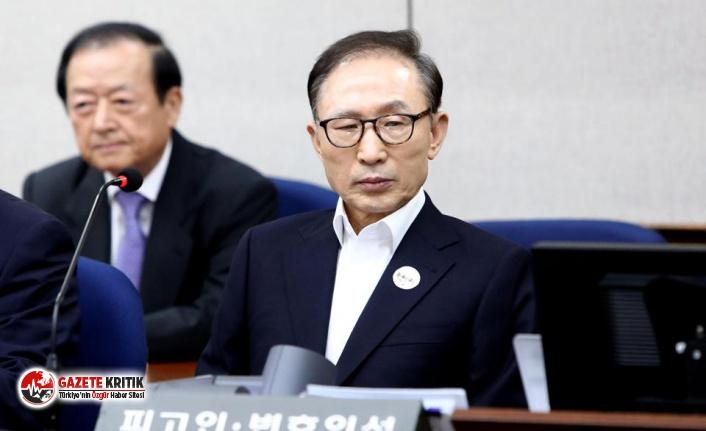 Güney Kore'nin eski Devlet Başkanı Lee, yolsuzluktan cezaevine girdi