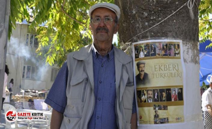Halk ozanı Aşık Ali Ekber Gülbaş koronavirüsten hayatını kaybetti