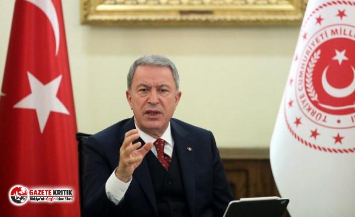 Hulusi Akar, CHP'li vekilin sözleri için:Bu dilin hesabı hukuk çerçevesinde sorulacak