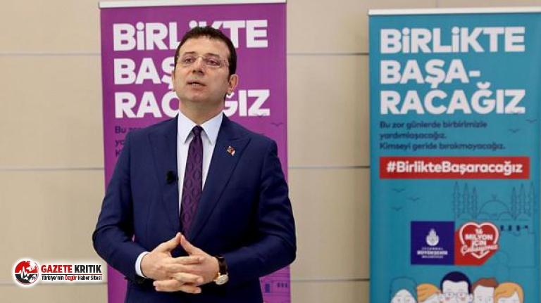 İBB'den, Ekrem İmamoğlu'na Kanal İstanbul soruşturması hakkında açıklama