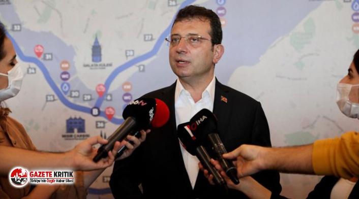 İmamoğlu'ndan Kanal İstanbul soruşturmasını yazan müfettişe 'bölücülük' tepkisi: Hadi oradan sen kimsin ya?