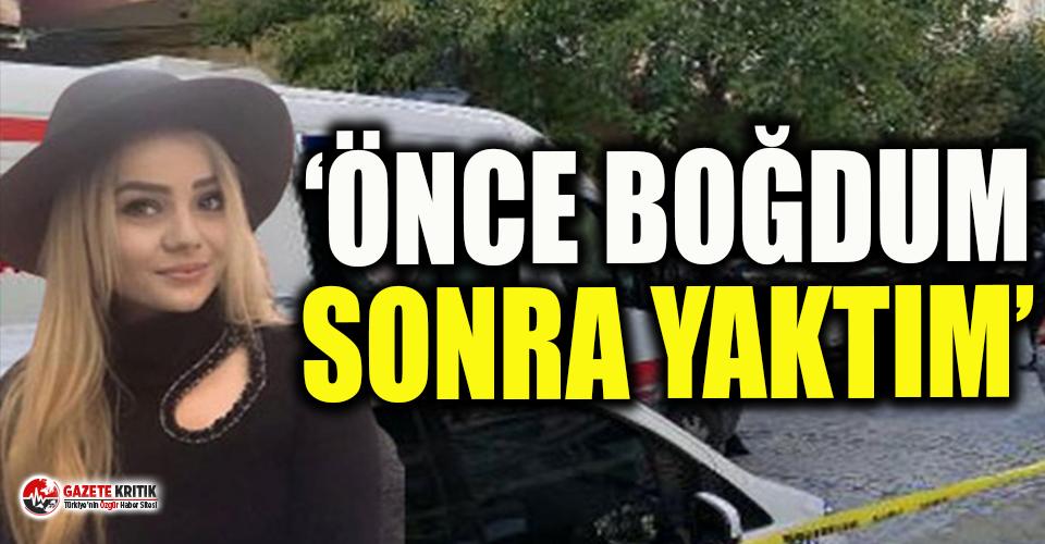 İstanbul Bahçelievler'de doğalgaz patlamasında öldüğü sanılan Fatma Mavi'yi, Ergin A. isimli erkek öldürmüş!